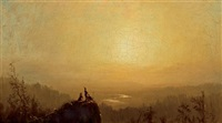 view of rappanack valley by john williamson