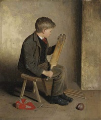 the young cricketer by edward holliday
