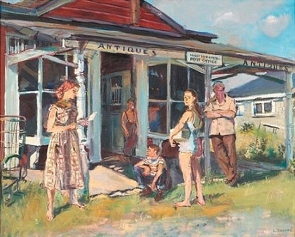 myron watkins postmaster by louis bouché