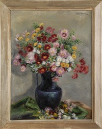 floral still life by peggy williams dodds