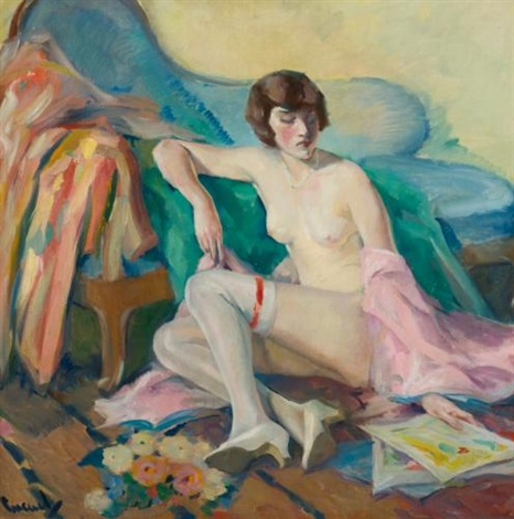 nude by edward cucuel