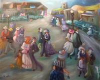 village party by shlomo alter