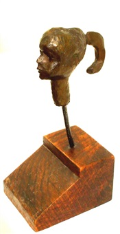 head of girl by michael ayrton
