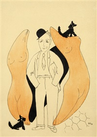 karikatura josefa šímy by adolf hoffmeister