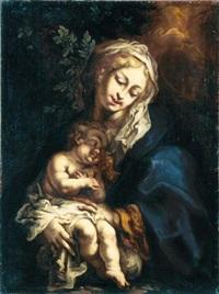 madonna col bambino by giuseppe antonio pianca