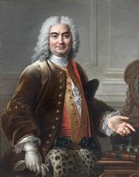 portrait présumé de charles de rohan, prince de montauban by charles-antoine coypel