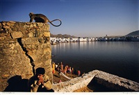 pushkar lake, rajasthan by raghu rai