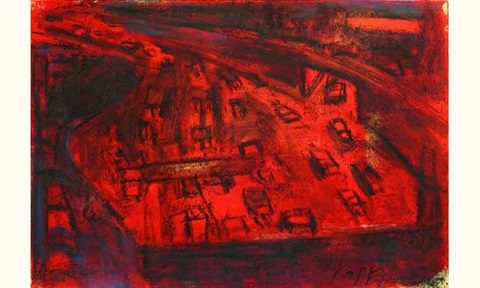 lincoln tunnel red by david kapp