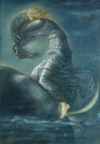 luna by edward burne jones