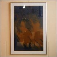 abstraction lyrique avec portrait by miodrag djordjevic