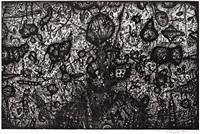 wasserwelt i (die gestürzten stehen auf 1950) by arnulf rainer