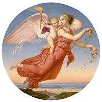 allegorische darstellung by adolf (carl) senff