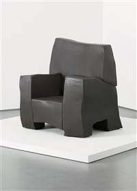 large armchair (from the sculpt series) by maarten baas
