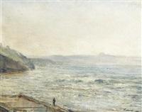 plage des basques, biarritz by justin (joseph marie j.) gabriel