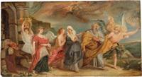 lot und seine töchter (after rubens) by louis farasyn