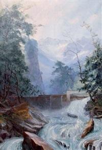 torrent en montagne by etienne albrieux
