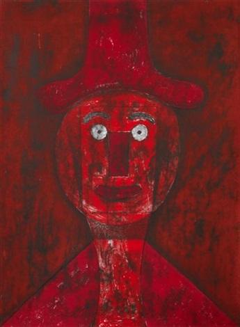 cabeza roja by rufino tamayo