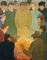 vuurpot by johan van hell