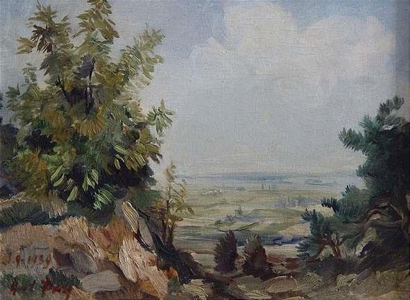 landschaft in der pfalz by hans fay