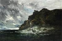 mer dechaînée by louis-auguste auguin