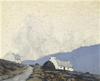 two cottages by paul henry