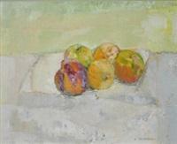 peaches & apples by alexey krasnovsky