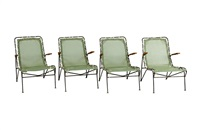 group of furniture from the sol-air collection (set of 11) by pipsan saarinen swanson