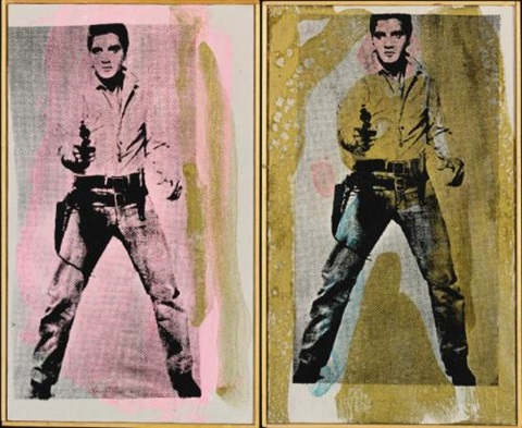 andy warhol elvis 1964 andy warhol elvis 1964 in 2 parts by richard pettibone