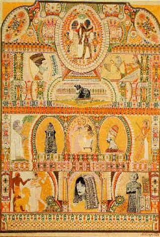 lion rugissant gardien des temples by augustin lesage