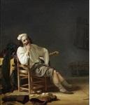 a musician resting by simon kick