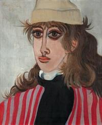 portrét dívky by richard fremund