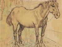 farmer and horse by jan toorop