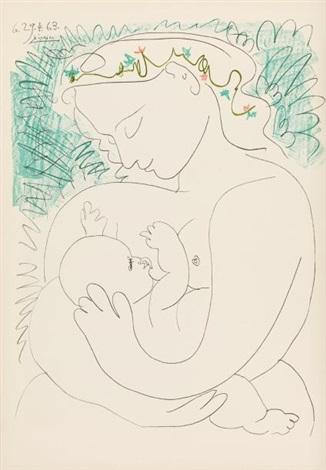GRANDE MATERNITE, 1963 by Pablo Picasso on artnet
