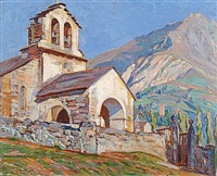 la chapelle des gallières by manuel cabré