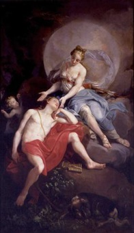 diane and endymion by laurent pécheux