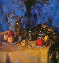 la nappe de damas, 1976 by dmitri i. shmelyov