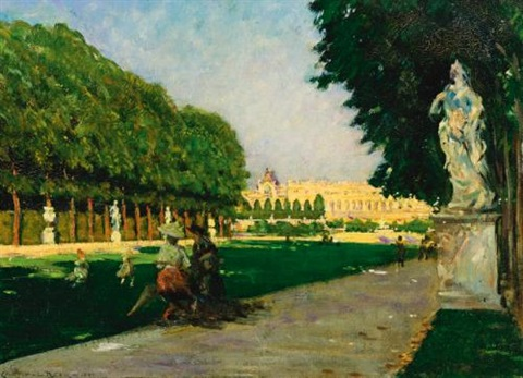 the tapis vert versailles by james carroll beckwith