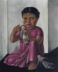 niña indígena by roberto montenegro