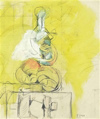 study for chimere by graham sutherland