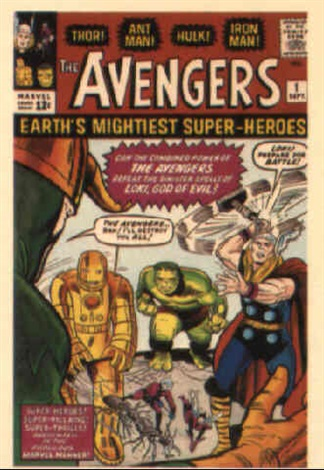 the avengers no1 by dick ayers