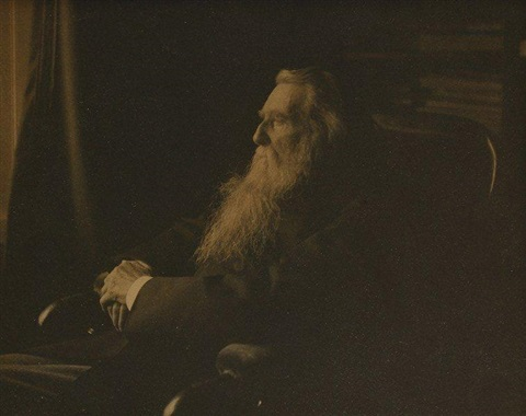 john ruskin by frederick hollyer