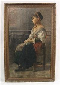 neapolitan girl by benjamin tupper newman