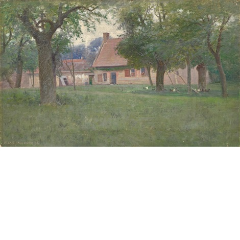 a peaceful house, normandee by alexis jean fournier