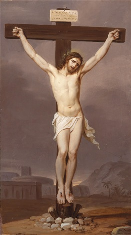 christus am kreuz by josef arnold the elder