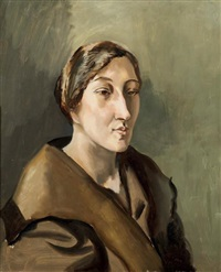 portrait de pauline coulon by léopold survage
