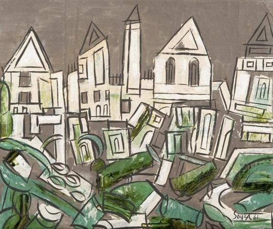 village by francis newton souza