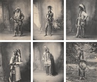 native americans (21 works) by frank a. rinehart