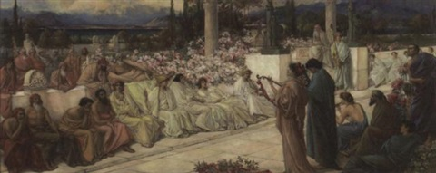 the disciples of sappho by thomas ralph spence