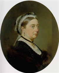 queen victoria by heinrich von angeli