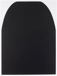 grande nero by alberto burri